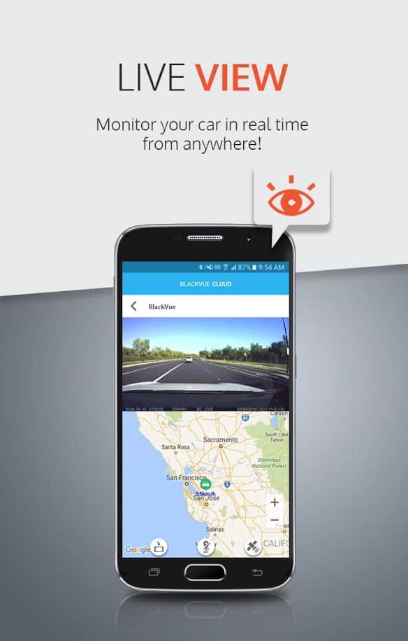 Blackvue app monitor your car in real time from anywhere