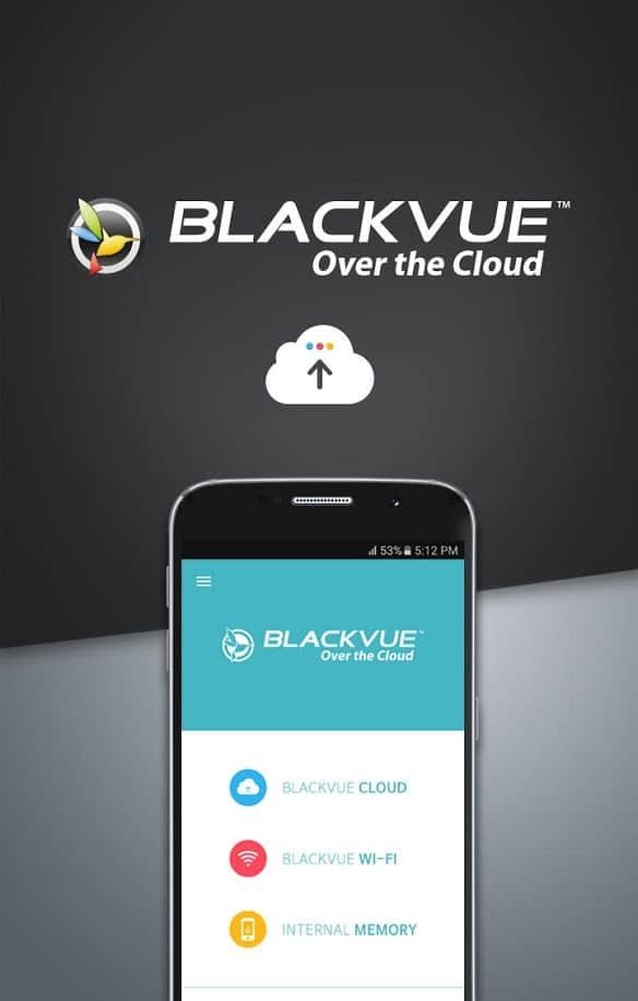 Blackvue dashcam app Over The Cloud
