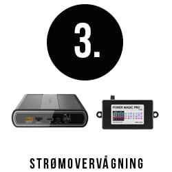Strømovervågning - Power Magic Pro, batteri
